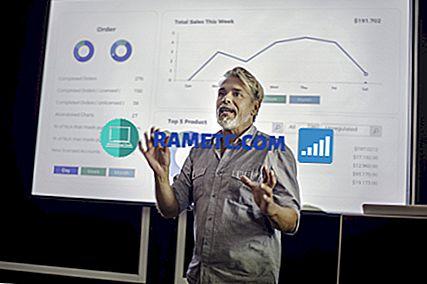 Menentukan presentasi PowerPoint